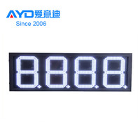 Alibaba Express Hot Sales LED Gas Station Sign, High Brighting LED Gas Price Changer