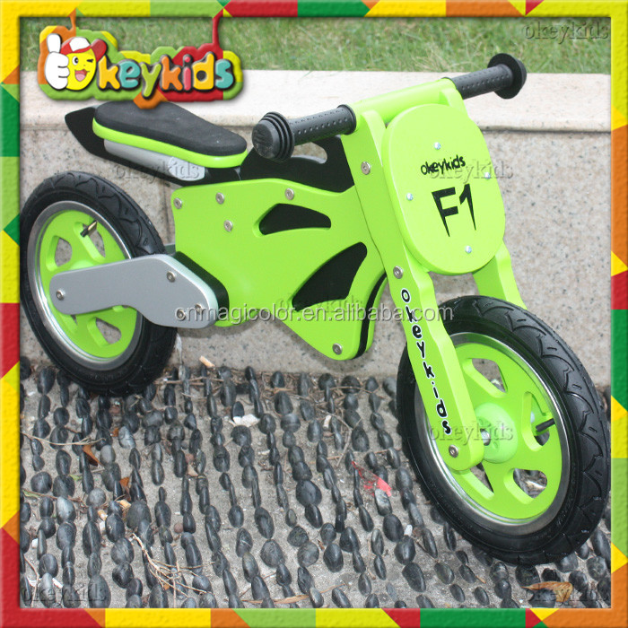 2016 new design children wooden bike,cheap kids wooden bike,popular baby wooden bike W16C069