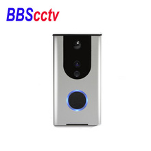 waterproof built-in battery Wireless Video two way talking door phone camera suitable android and ISO wifi door bell