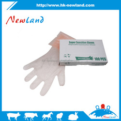 2016 high quality Disposable Arm Length Gloves shoulder glove