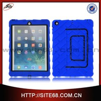 Smart silicon pc hybrid cell phone shockproof case for ipad air