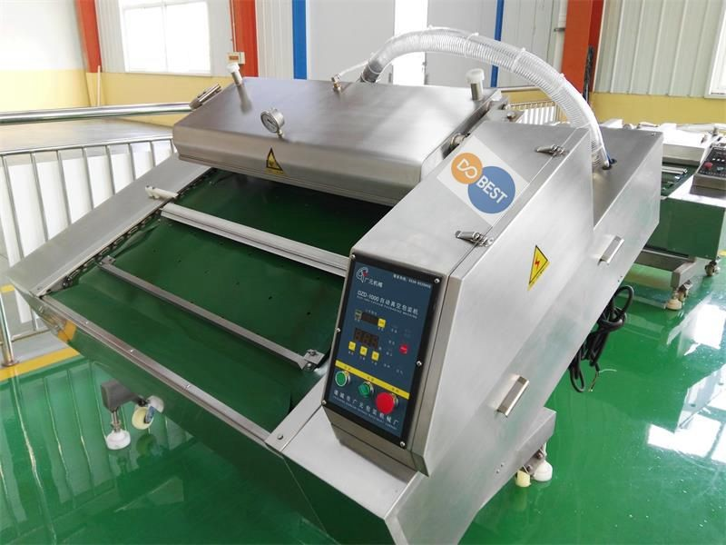 quail egg thermoforming packaging machine/dried tofu vacuum sealing machine/vacuum packing machine for snacks