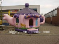 Teapot inflatable bouncer air blower,children toys,hot!!!