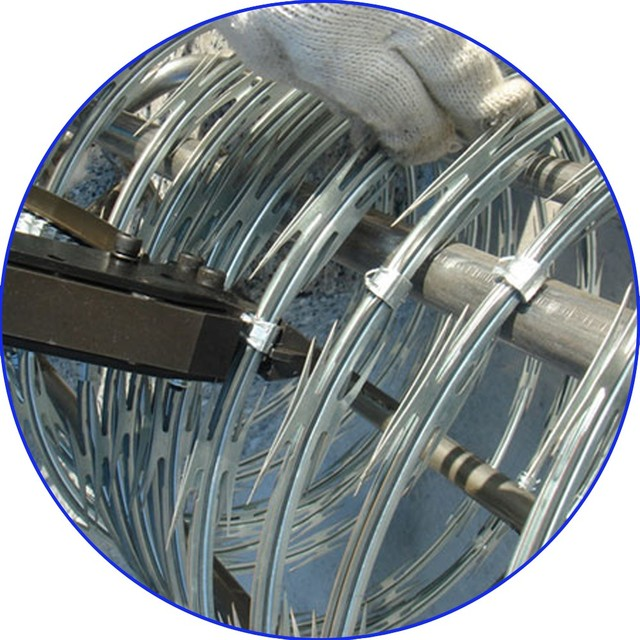 hot dip galvanized home depot wires razor barbed wire price for sale