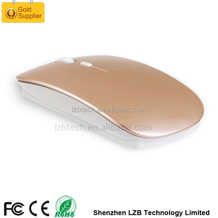Ultra Slim Portable Optical Mouse bluetooth/rechargeable wireless mouse Cheap wireless mouse high quality