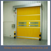 net Exterior pvc outside high speed door HSD-052