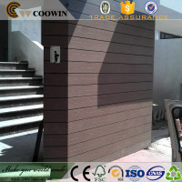 Embossing outdoor decorative weatherboard cladding