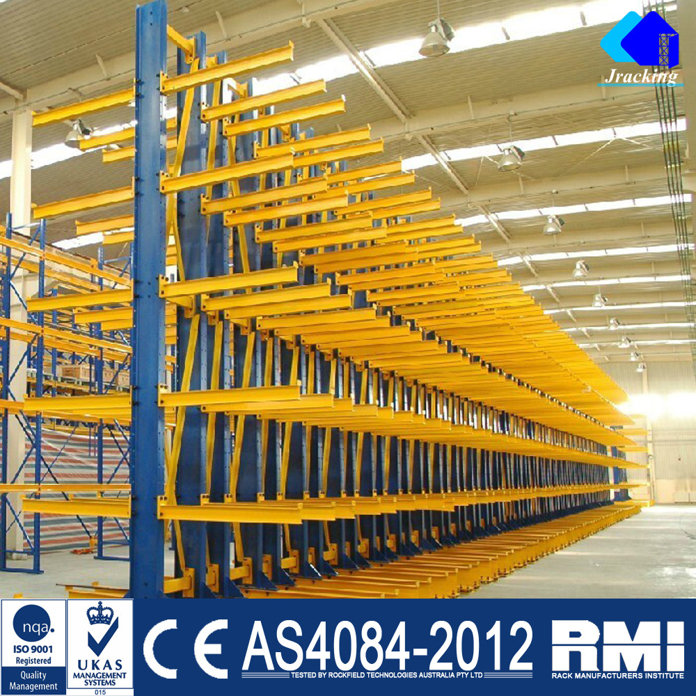 US container barrel professional industrial heavy duty cantilever rack