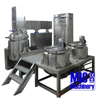 Micmachinery high shear vacuum homogenizing mixer for ointment