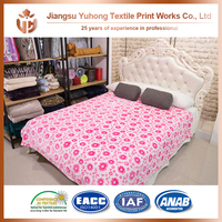 Good Touch Feeling Plain Dyed Fleece Blanket Instructions On Selling With Best Price