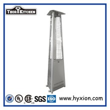 Stainless Gas patio heater for Euro-American area pyramid outdoor heater with Nozzle 1.55mm CSA ceitified