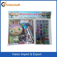 Friendship card making set IMC approved factory