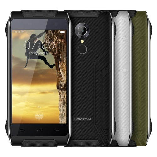 HOMTOM HT20 4G Phone, IP68 Waterproof 4.7 inch Android 6.0 MT6737 Quad-Core Smart Phone