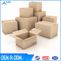 Hot Sale Print Logo Customized Hard Cardboard Shipping Carton Corrugated Box Packaging factory