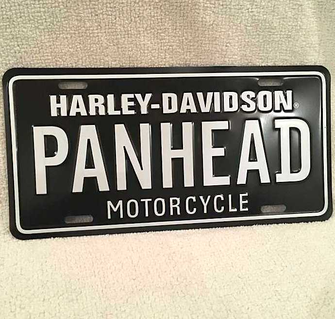 New Orleans Motorcycle Accessories License Plate Bike Black Decoration Plaque Metal