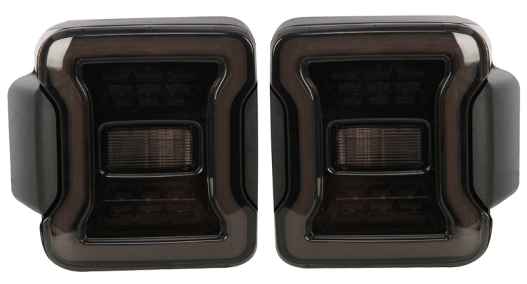 For jeep for wrangler light, led headlight and led tail light parts for led light bar
