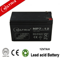 12v 7ah agm lead acid battery for ups