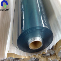 China Manufacture Clear Soft PVC Plastic Transparent Film In Roll Or Sheet