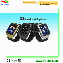 Android 4.4 OS MTK6577 Dual Core Bluetooth 3G GPS Smart Watch Phone