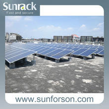 Stable flat roof mounting ,solar hook
