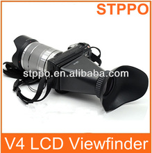 Stppo V4 LCD Viewfinder View Finder 2.8x Magnifier Extender Magnetic Hood for Sony NEX3 NEX5 NEX7 Cameras