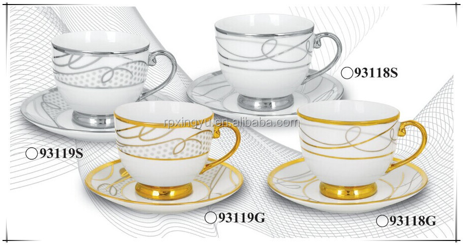 bone china 180cc tea set cup and saucer