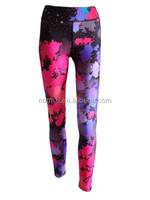 Colorful women lastest design yoga pant fitness clothings