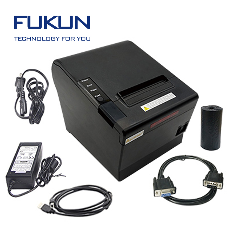 Fukun 80mm bluetooth ticket Thermal Printer For Pos