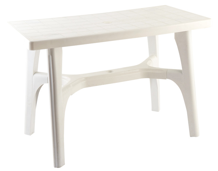 New Designed Modern Outdoor Furniture Cheap White Small Plastic Table