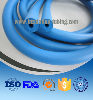 Flexible NBR Rubber Sponge Tube Closed Cell Hose and Sleeving NBR Insulation Foam Tubing