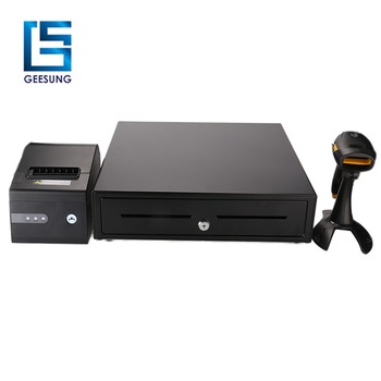 High quality Black heavy duty cash drawer