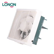 Home Use Hot sales Whole Plastic Square Wall Mounted Ventilation Exhaust Fan
