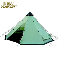 YUETOR camping tent 6 person with CE certificate