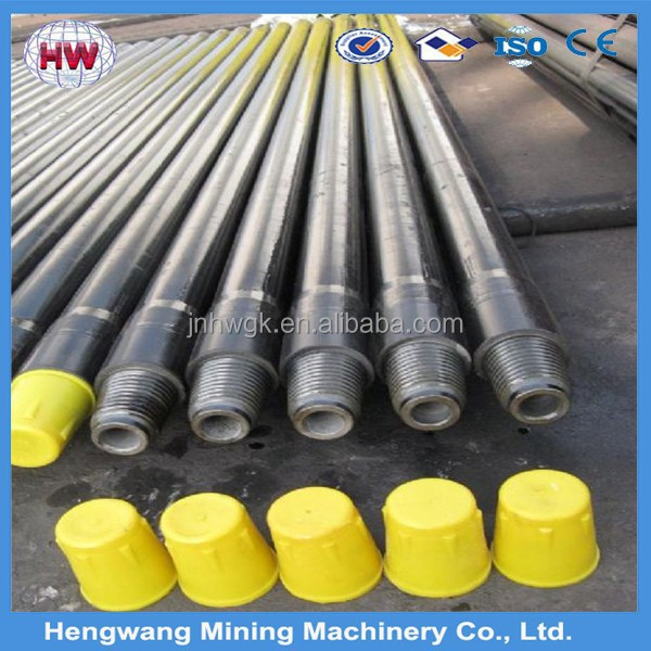 Drifting and tunneling six edges drill rod