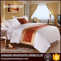 Factory Wholesale luxury hotel standard bedding manufacturers usa size,cotton linen bedding set