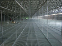 rooftop walkway,sprung roof,workshop ceiling steel grating(20years professional manufacturer)