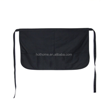 Hot Cotton Waist Apron With Zipper Pocket For Salons