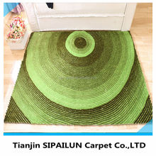 different color special customized silk carpets 4D rugs