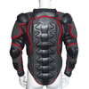 Motorcycle body armor and motocross body protection racing protective jacket