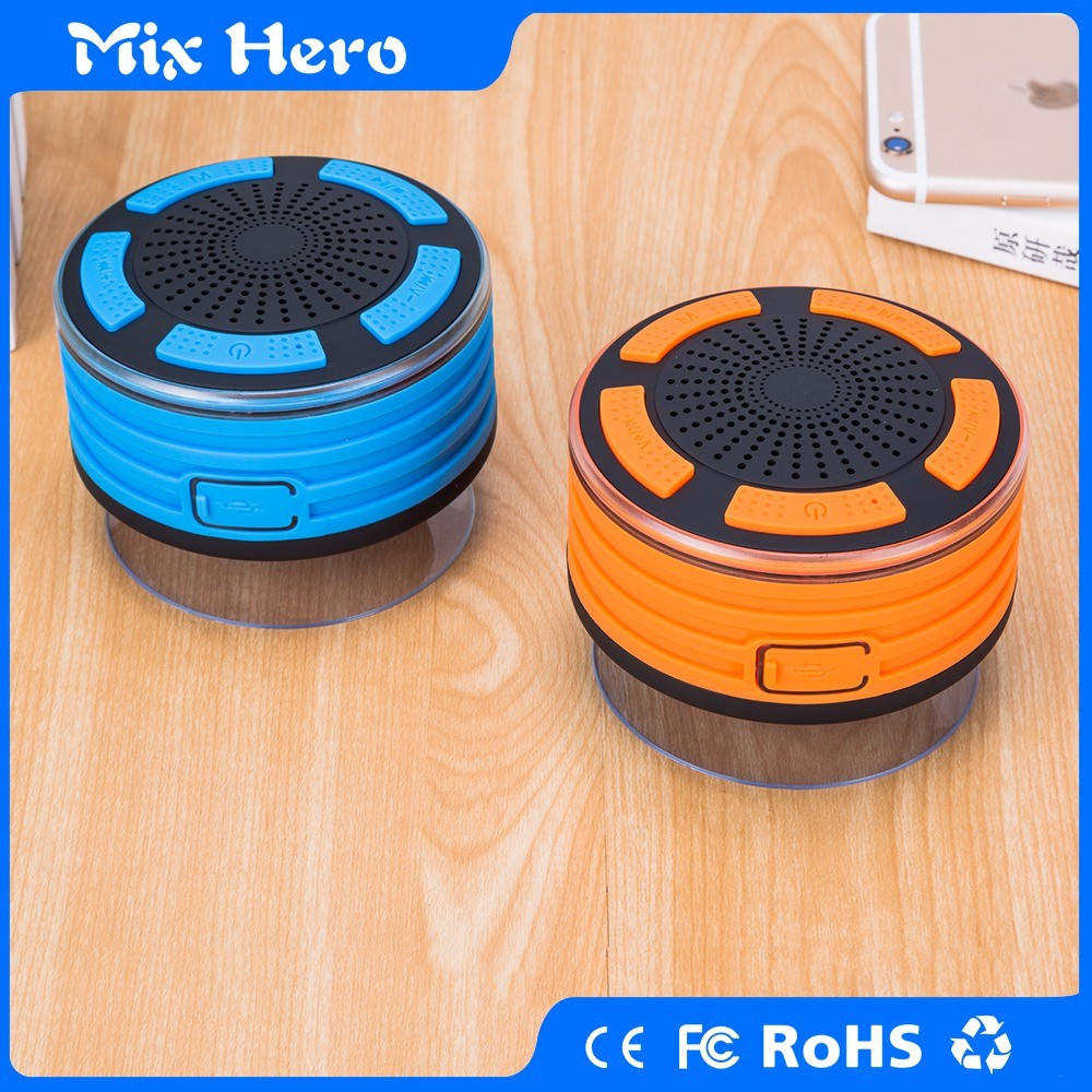 F013 Waterproof outdoor mini portable bluetooth speaker with FM radio