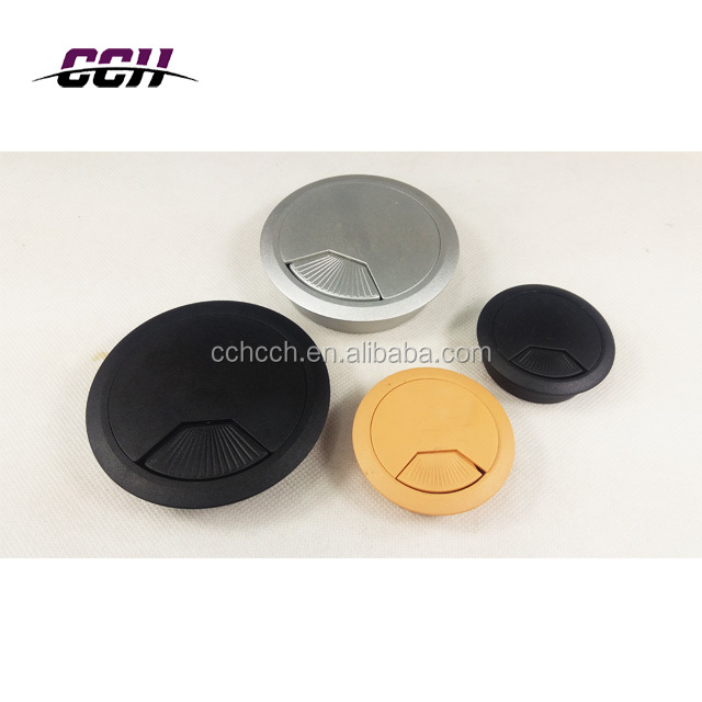 Office Desk Table Computer Grommet Cable Wire Hole Cover