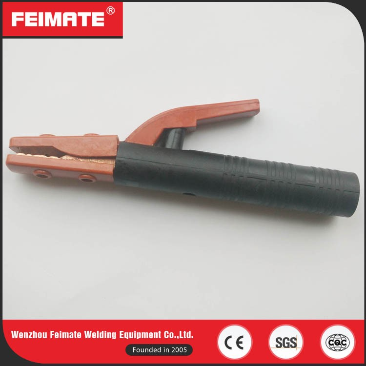 FEIMATE Profesional Made 246g 500A Pink Electric Welding Electrode Holder