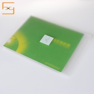 Not Easily Deformed Hard Plastic A3A4A5 Size Office School Paper File Folder