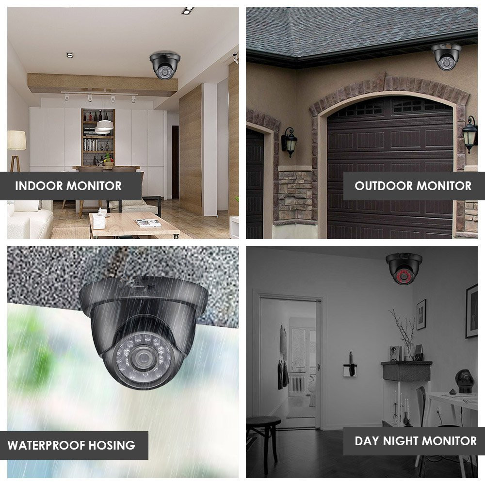 1080p Resolution Security Surveillance Cctv Camera Kit home Security Systems 4ch cctv camera dvr kit