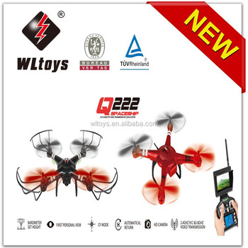 New WL model Q222 2.4G 5.8G FPV vedio transmission rc quad copter with camera