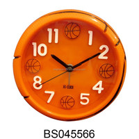 Mini basketball shape alarm clock table clock for baby