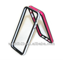 Hot sale product,bumper with metal keypad for Iphone 5G,many colors