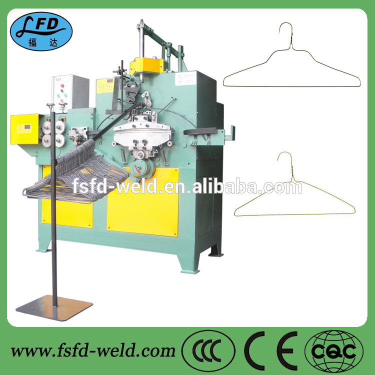 Automatic clothes rack making machine low price clothes hanger making machine