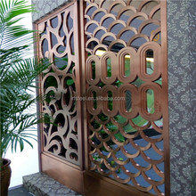 OEM&ODM stainless steel wall panels metal screen laser cutting partition
