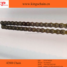Stainless steel motorcycle drive chain 428H
